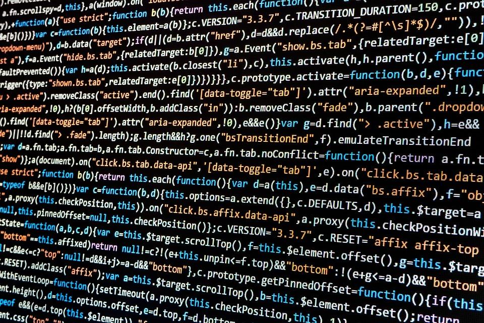 Programmierung, Computer, Umwelt, Syntax Highlight
