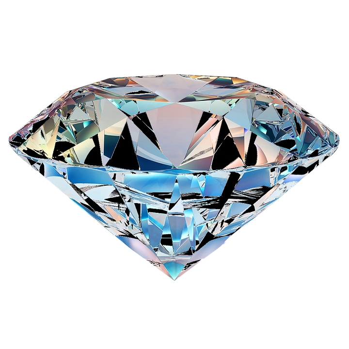 pixabay transparent diamond teal on image en isolated free