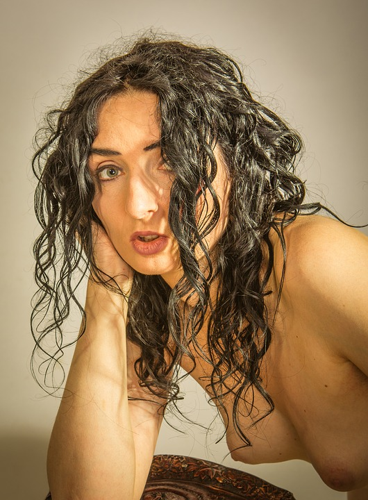 Sexy čierne ženy nahý