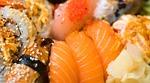 sushi, take away, food