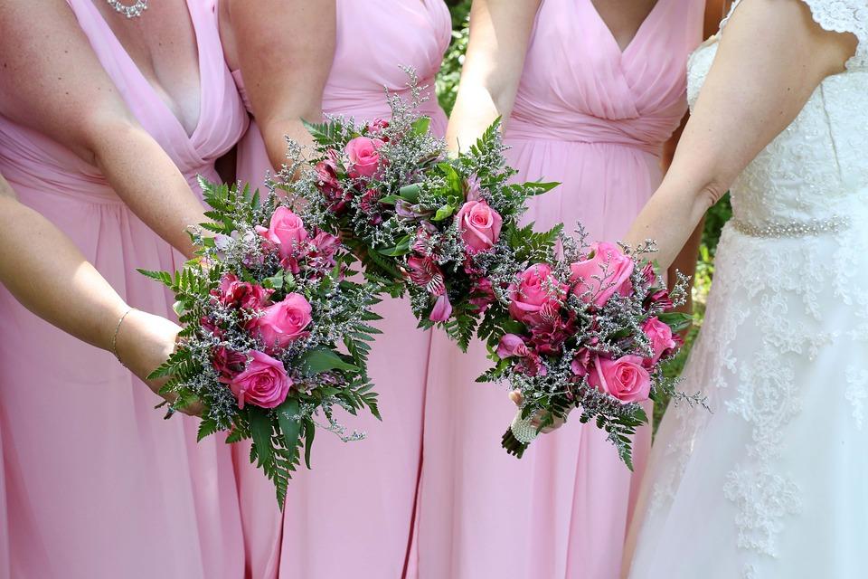 Hochzeit Blumenstrausse Ehe Kostenloses Foto Auf Pixabay