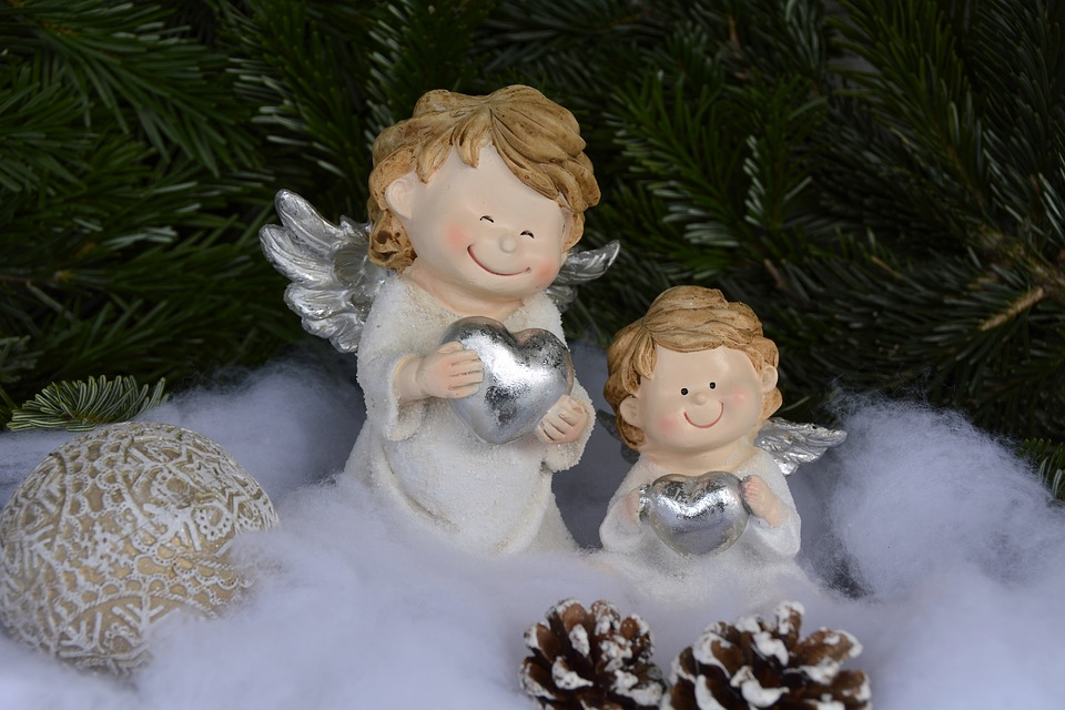 Christmas Angel Wings Free Photo On Pixabay