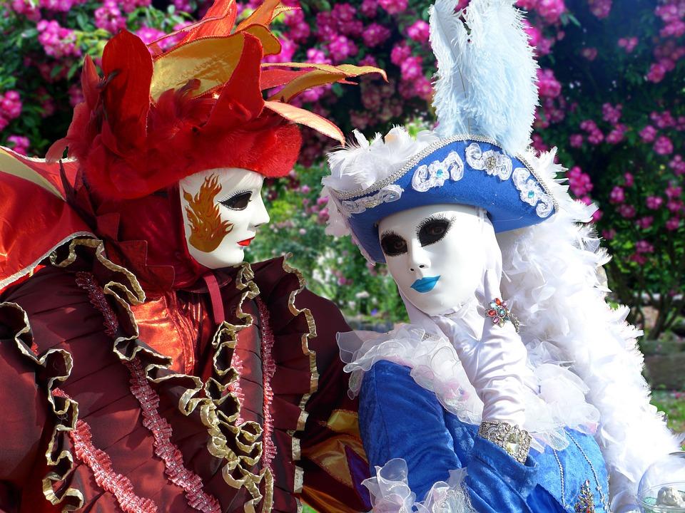 Naamarit, Carnival Of Venice, Maskit Venetsian