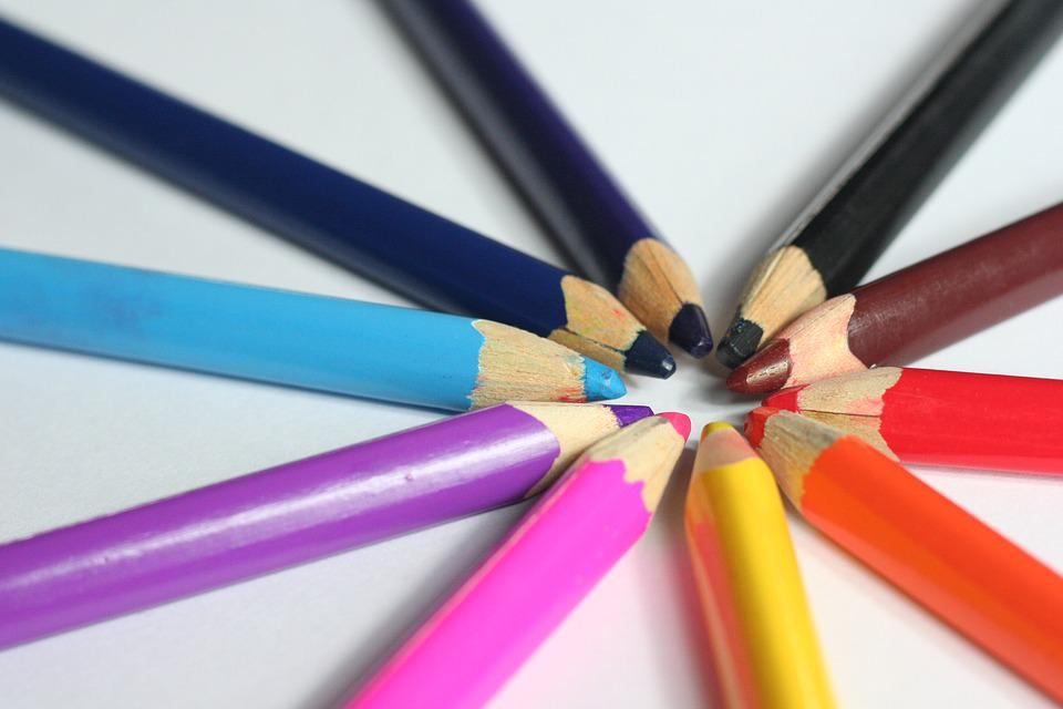 Free photo: Crayons, The Background, Coloring - Free Image on ...
