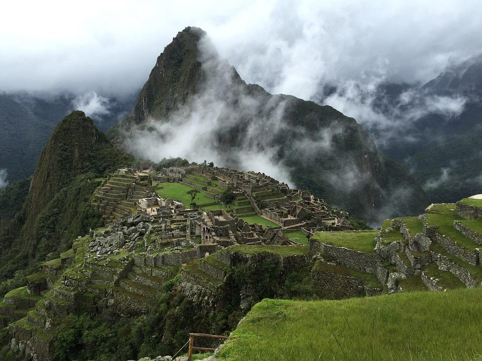 Machu, Picchu, Mountain, For, Rainy Day