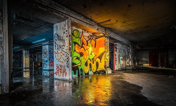 Urban Warehouse Factory Building