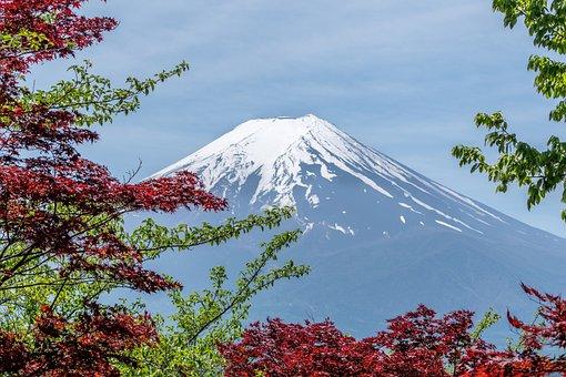 Gunung, Lanskap, Jepang, Alam, Adegan