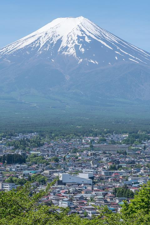 Mountain, Mount, Landscape, Japanese, Nature, Scene