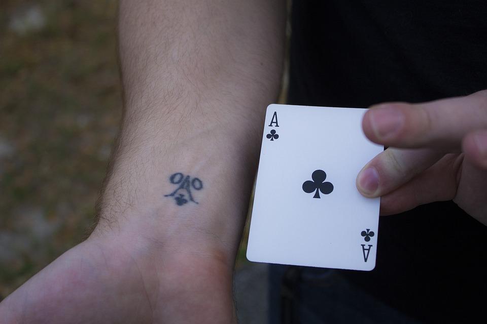 Asa Karty Tatuaż Darmowe Zdjęcie Na Pixabay