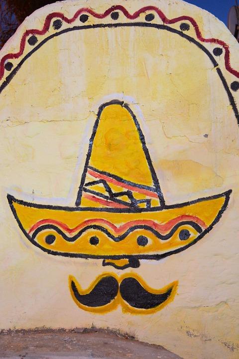 Pintura Mural Azteca Foto Gratis En Pixabay
