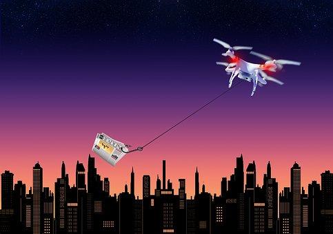 Drone, Uav, Aerial, Technology, Remote