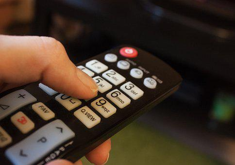 Remote Control, Button, Tv, Press
