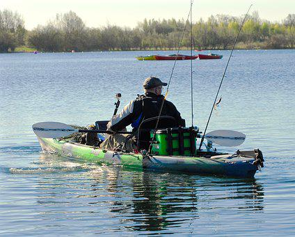 Kayak, Fishing, Fisherman, Kayaking
