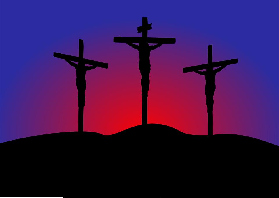 Golgata, Jesus, Kristus, Död, Stationer Av Korset
