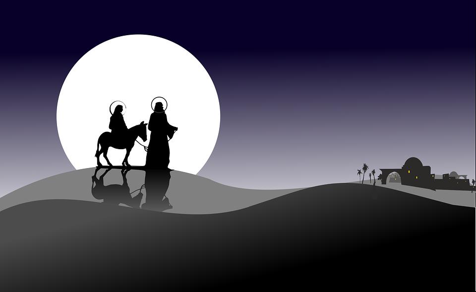 Navidad, Asterisco, Vacaciones, Józef, Mary