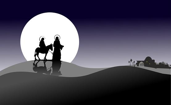 Weihnachten, Sternchen, Urlaub, Józef