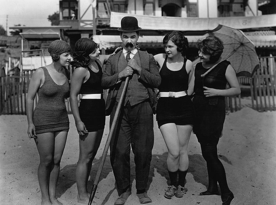 Beach Film Muto Mack Sennett · Foto gratis su Pixabay