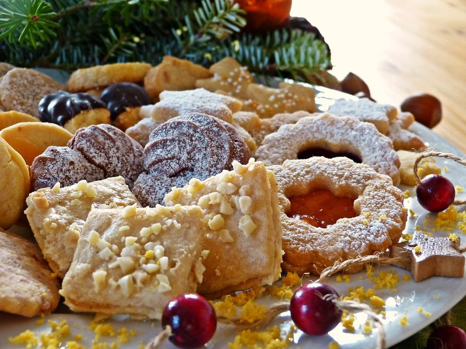 Free photo: Christmas Cookies, Cookie Plate - Free Image on ...
