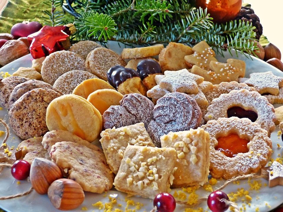 Cookie, Navidad, Adviento, Placa, Decoración De Navidad