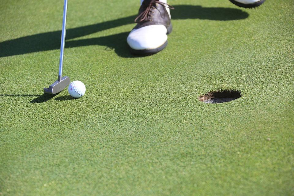 Golf, Putting, Hole, Golf Ball, Golfer, Golfing, Green