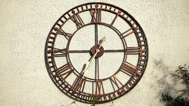 Clock, Wall, Time, Hour, Classic, Style