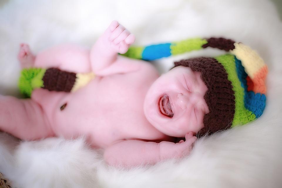 Dieťa, Farba, Narodenia, Malé Dieťa, Plač, Čepiec