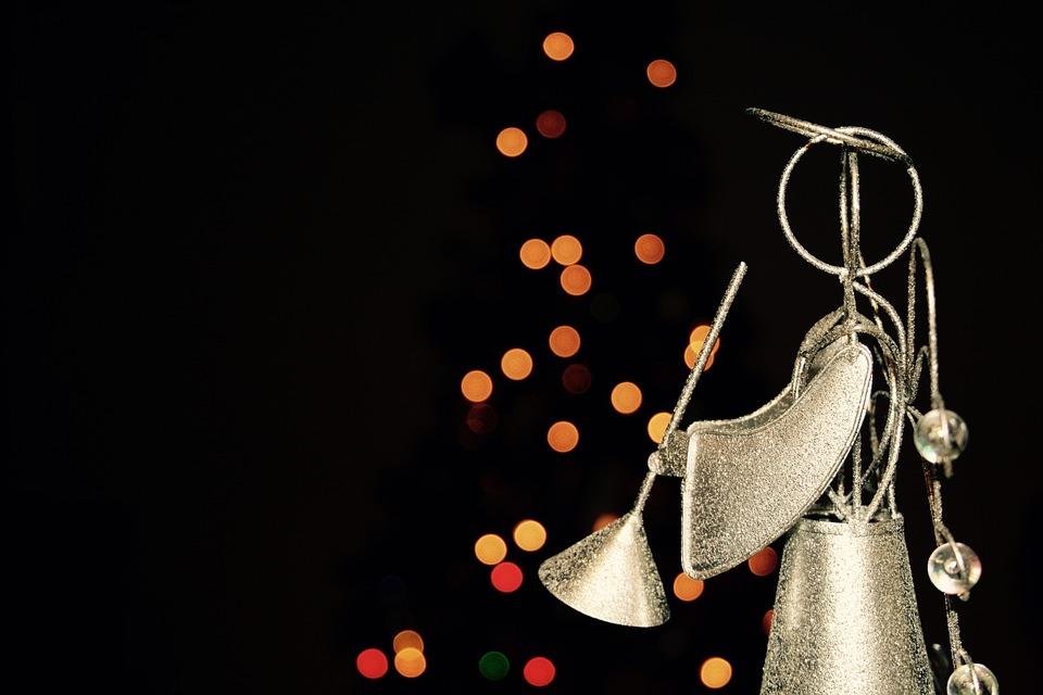 angel christmas lights december decoration shiny