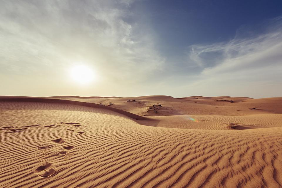Arid, Barren, Dawn, Desert, Dry, Hot, Landscape, Nature