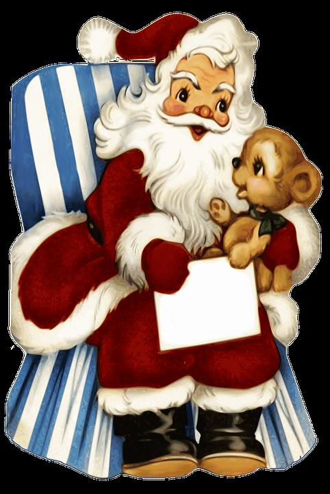 Imagenes Gratis De Papa Noel.Papa Noel Papa Navidad Feliz Imagen Gratis En Pixabay