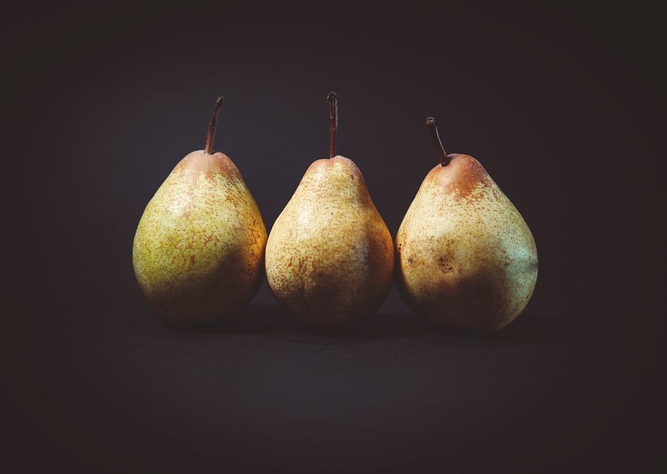 Close Up, Pêras, Frutas, Delicioso, Alimentos, Saudável