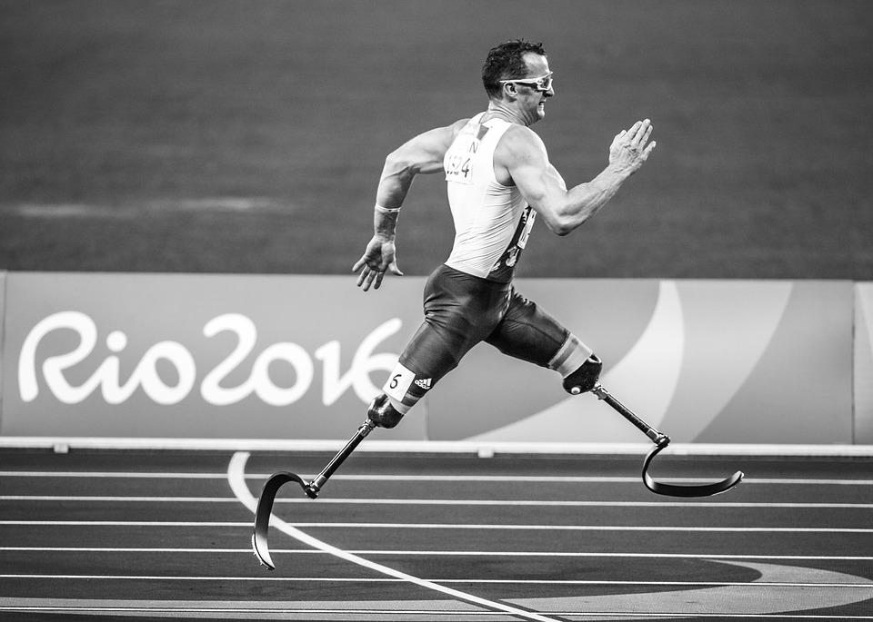 Action, Adult, Paralympics, Prosthetic, Athlete