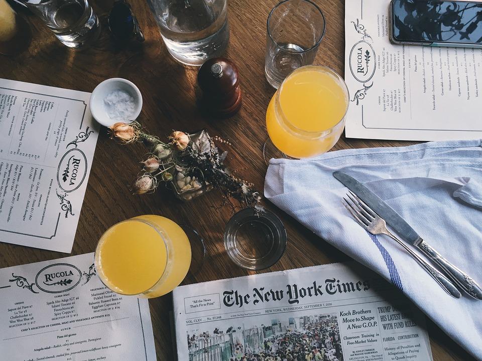 Trink Gläser Getränke Zeitung · Kostenloses Foto auf Pixabay