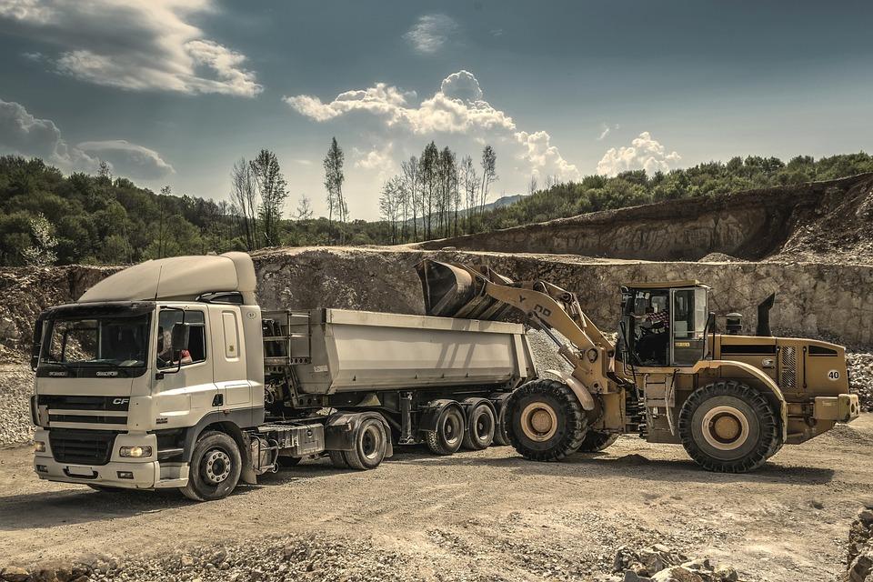drive digger excavator engine