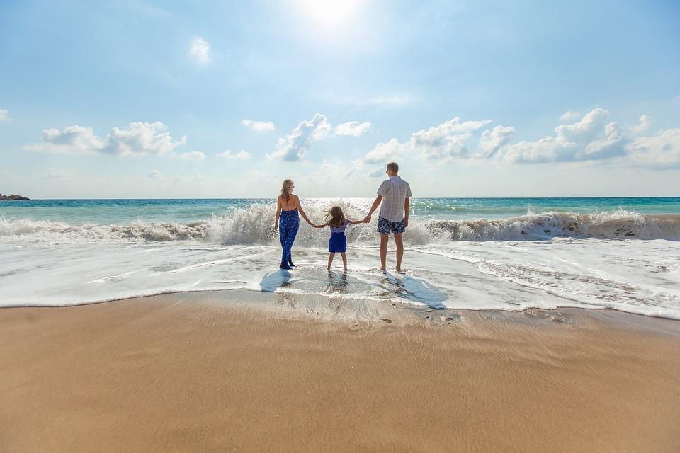 Beach, Family, Fun, Leisure, Ocean, Relaxation, Sand
