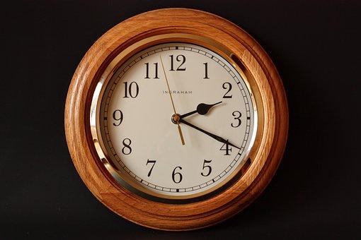 Alarm Clock, Classic, Clock, Dial, Gold