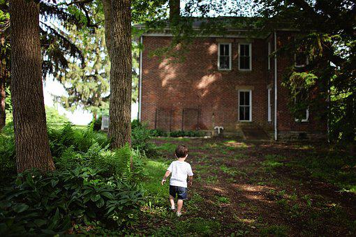 Alone, Architecture, Boy, Brick Walls