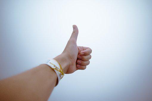 Fingers Gesture Hand Thumbs Up Thumbs