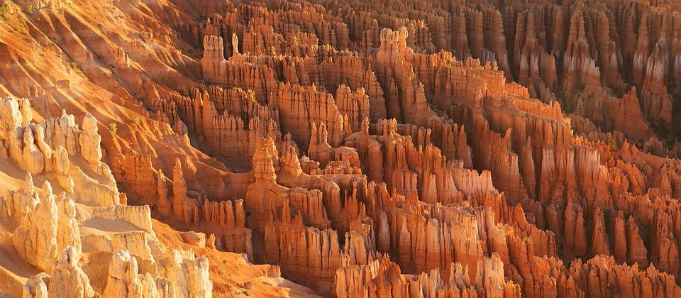 Bryce Canyon, Formacje Skalne, Erozja, Geologia, Usa