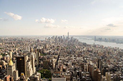 New York, Aerial, Architecture