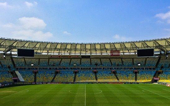 観覧席, サッカー場, スタジアム, サッカー, ゲーム, スタンド, 草