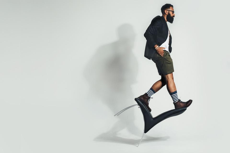 Balanceren, Stoel, Mens, Mode, Model, Evenwicht