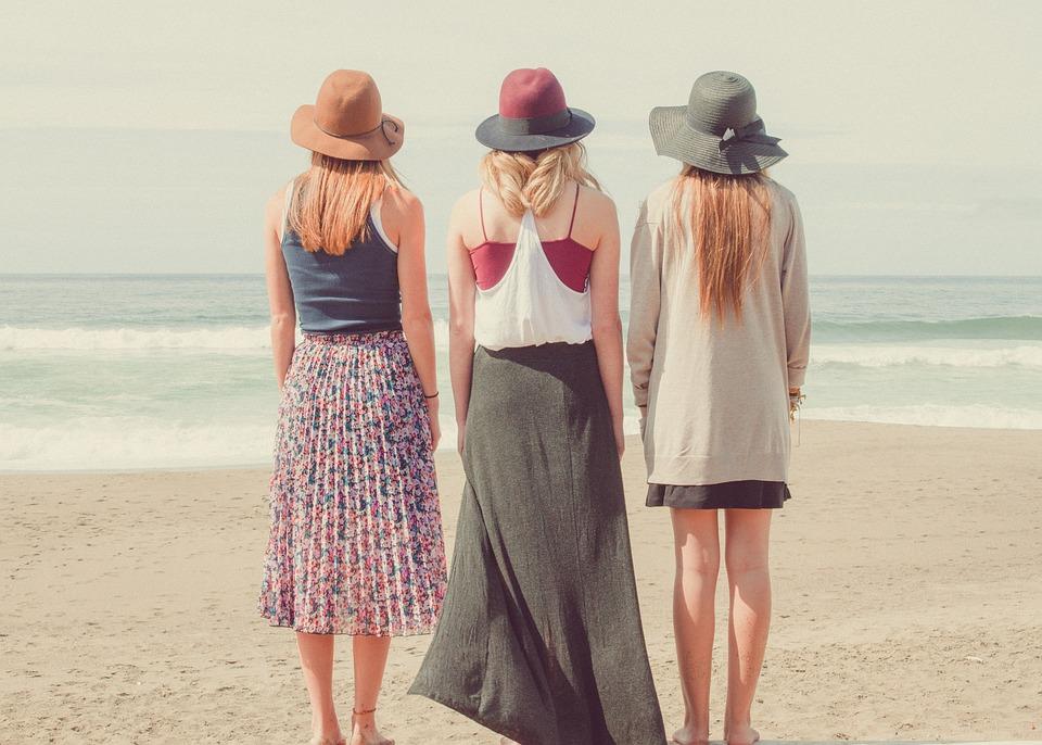 Beach, Ocean, People, Sand, Sea, Seashore, Water, Women