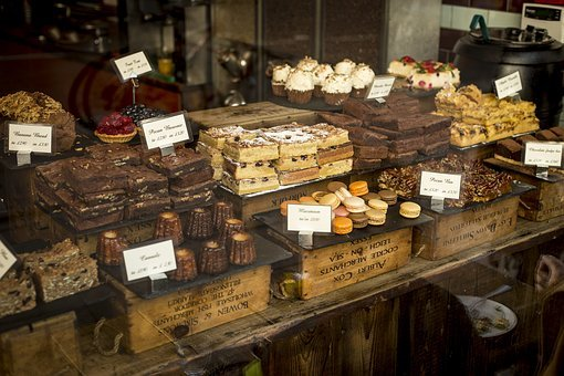 Desserts, Food, Pastries, Shop, Store