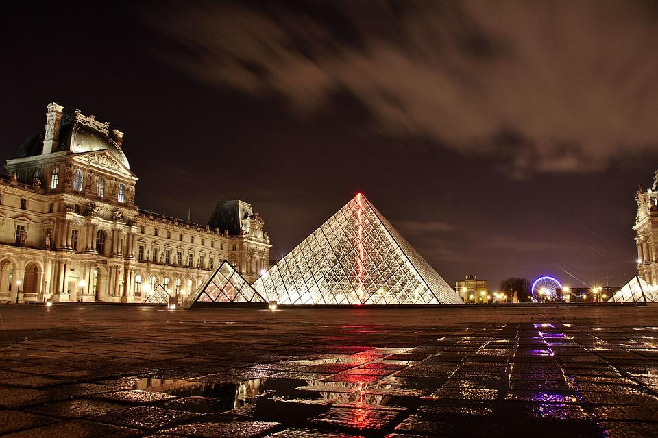 Musée Du Louvre, Paris, France, L'Architecture, Art