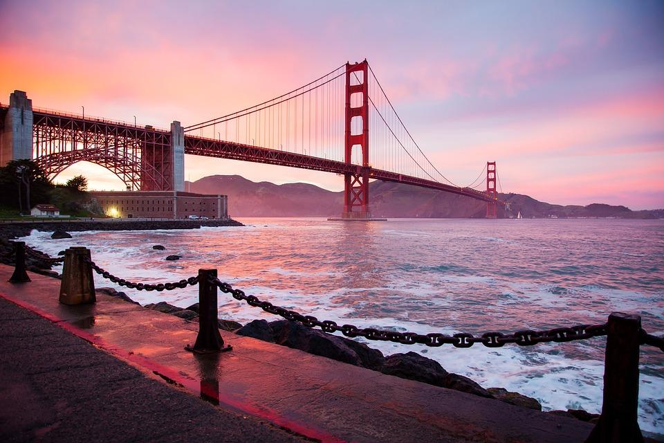 Architecture, Golden Gate Bridge, San Francisco