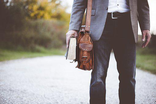 Bag, Book, Fashion, Man, Pants, Satchel
