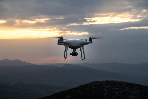 Dawn, Drone, Dusk, Mountains, Outdoors