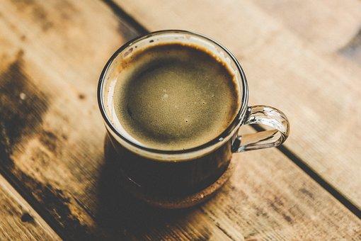 Caféine, Cappuccino, Café, Coupe, Boire