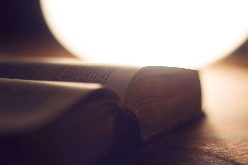 Incil, Bulanıklık, Kitap, Yakın Çekim, Belge, Sayfa