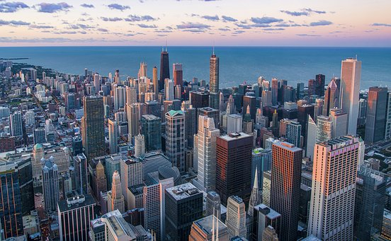 Architecture, Chicago, Buildings, City